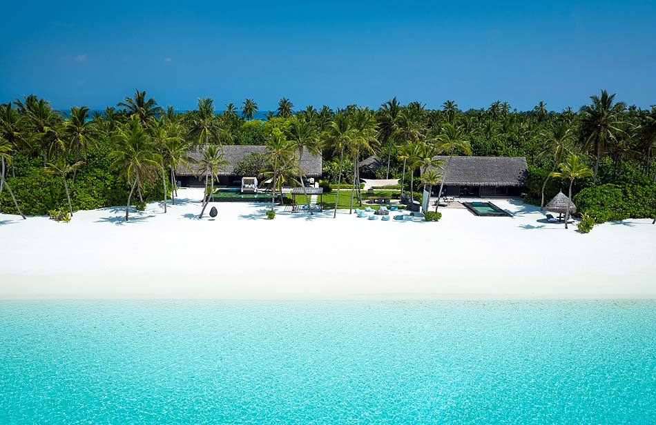 Grand Sunset Residence, Frontansicht, One & Only Reethi Rah, Maldives