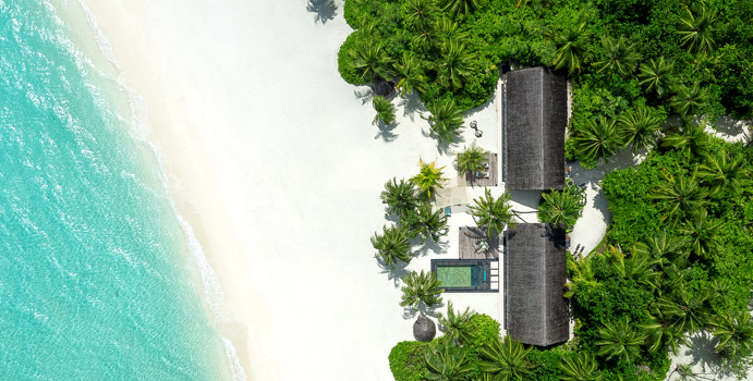 Luftaufnahme Two - Villa Residence with Pool, One & Only Reethi Rah