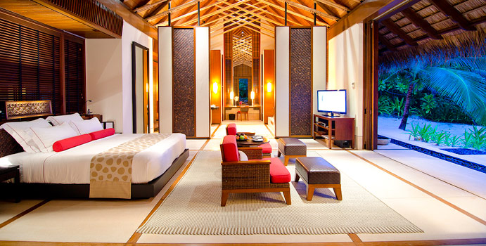 Beach Villa, One & Only Reethi Rah