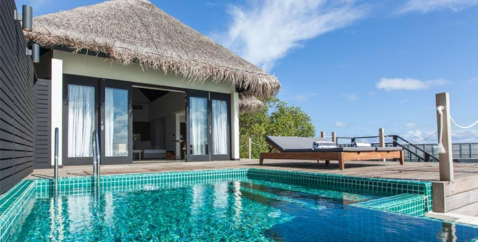 Lagoon Villa with Private Pool, Outrigger Konotta Maldives Resort