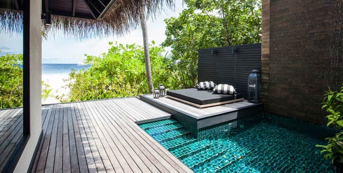Private Pool, Beach Villa with Private Pool, Outrigger Konotta Maldives Resort