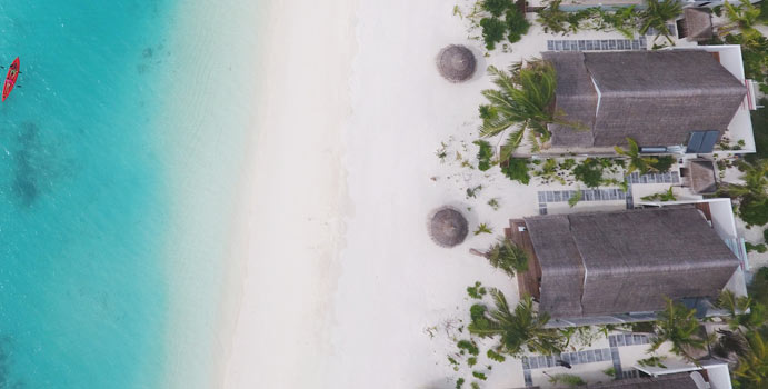 Luftaufnahme, Earth Villa, OZEN by Atmosphere at Maadhoo