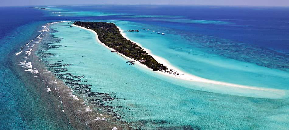 Luftaufnahme aus Westen I Palm Beach Island