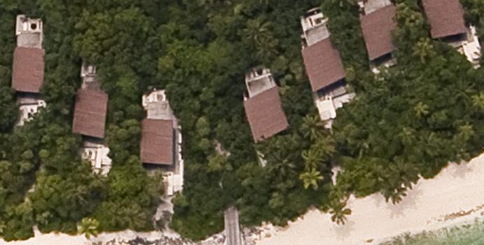 Luftaufnahme Park Villa, Park Hyatt Maldives Hadahaa