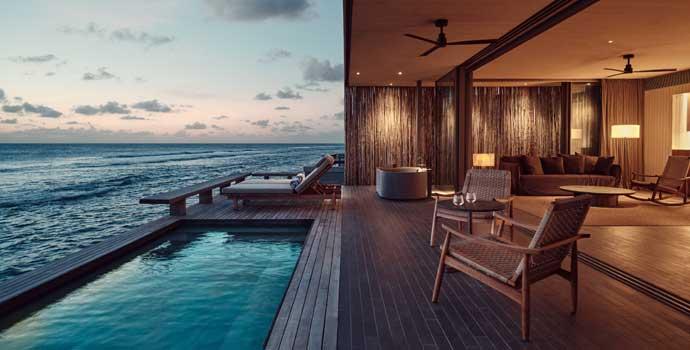 1 Bedroom Sunset Water Pool Villa, Patina Maldives, Fari Islands