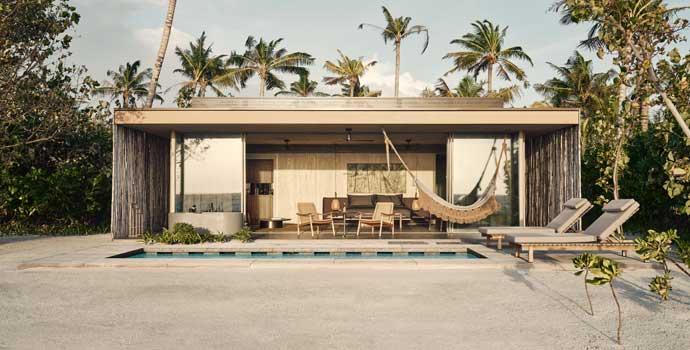 1 Bedroom Sunset Beach Pool Villa, Patina Maldives, Fari Islands