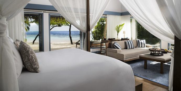 Wohnen, Deluxe Beach Villa, Raffles Maldives Meradhoo