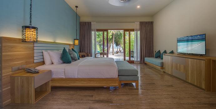 wohnen, Ocean View Villa, Rahaa Resort