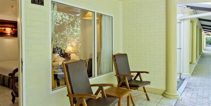 Terrasse, Garden Villa, Royal Island Resort & SPA