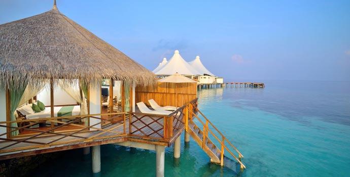 Water Bungalow, Safari Island Resort