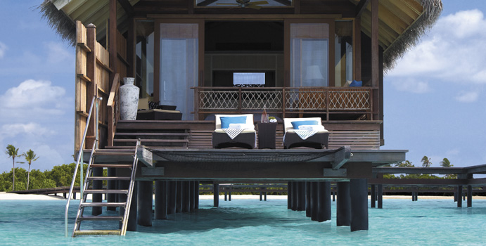 Water Villa - Shangri La's Villingili Resort & SPA