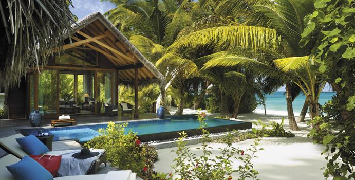 Beach Villa, 1 Schlafzimmer, Shangri La's Villingili Resort & SPA