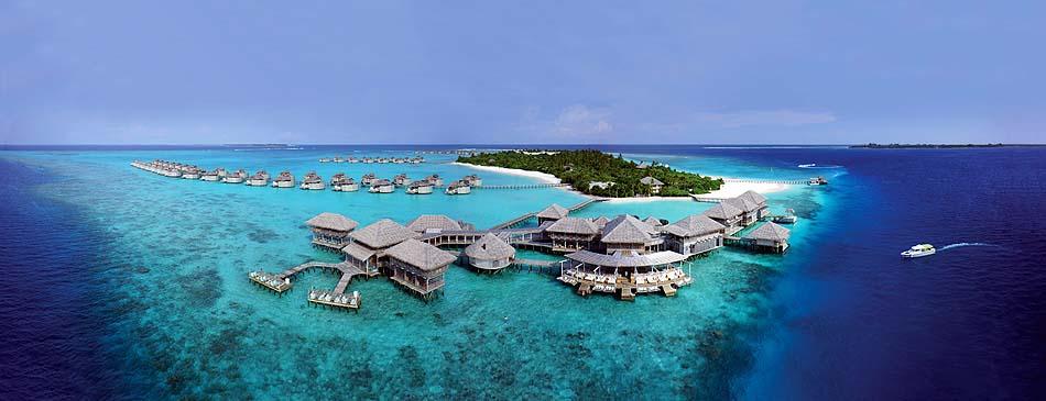 Panorama, Six Senses Laamu, Malediven
