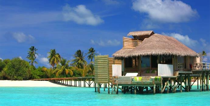 Lagoon Water Villa, Six Senses Laamu