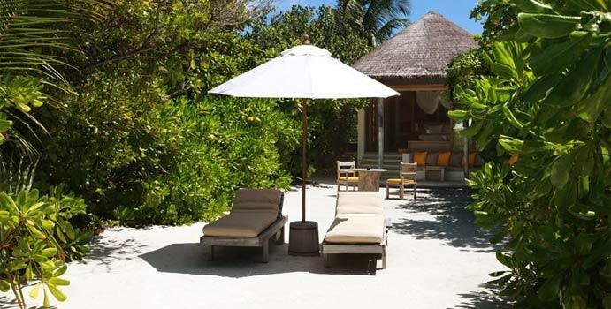 Lagoon Beach Villa, Six Senses Laamu