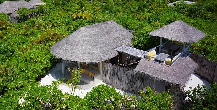 Ocean Beach Villa, Six Senses Laamu