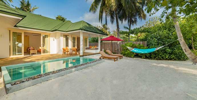 3 Bedroom Pool Beach Villa, Siyam World Maldives