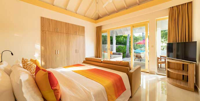 2 Bedroom Pool Beach Villa, Siyam World Maldives