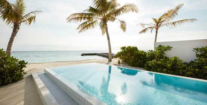 Beach Suite with Pool, Siyam World Maldives