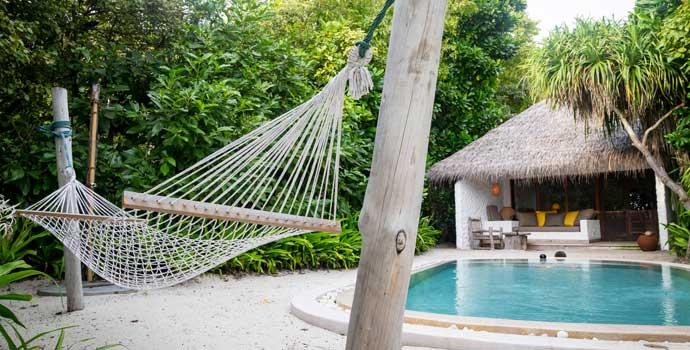 Soneva Fushi Villa Suite with Pool, One Bedroom Villa with Pool, Soneva Fushi Resort