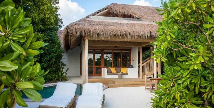 Soneva Fushi Family Villa Suite with Pool, One Bedroom Villa Suite with Pool, Soneva Fushi Resort