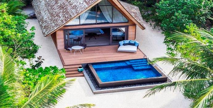 Beach Villa with Pool, The St. Regis Vommuli