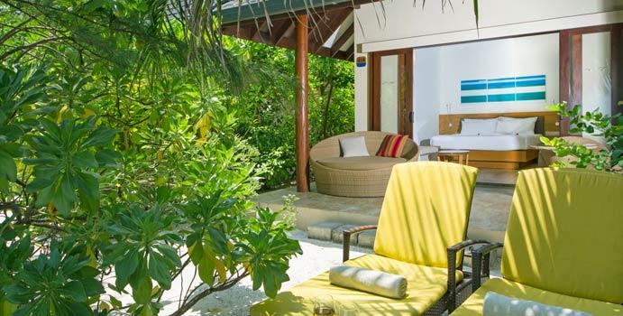 Terrasse, Premium Beach Villa, Summer Island Maldives