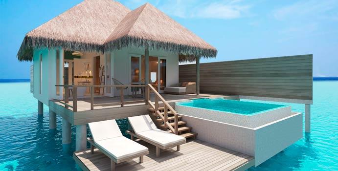 Ocean Suite with Pool, Sun Aqua Iru Veli