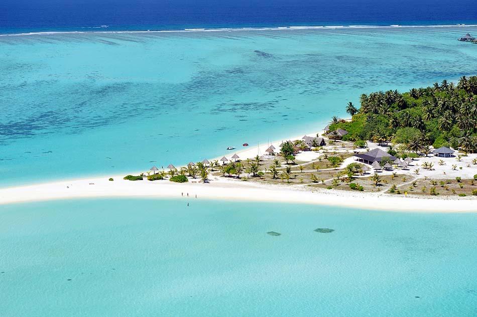 Strandaufnahme von oben, Sun Island Resort & SPA, Maldives