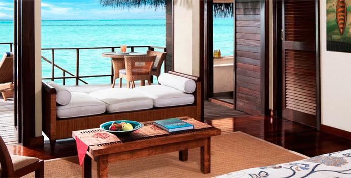 Wohnen, Lagoon Villa, Taj Exotica Maldives Resort & SPA