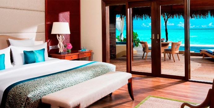 Wohnen, Deluxe Beach Villa with Pool, Taj Exotica Maldives Resort & SPA