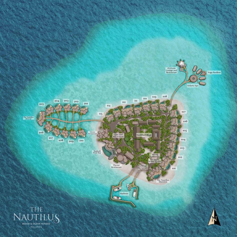 Lageplan The Nautilus