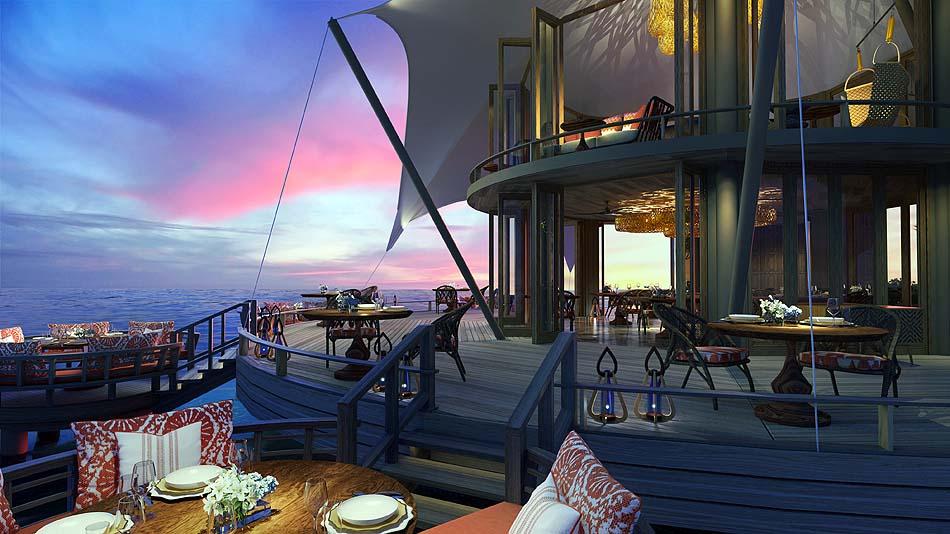 Mediterranes Restaurant, The Nautilus