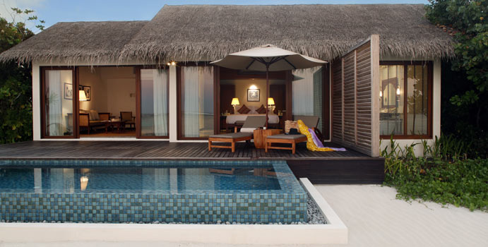 Beach Pool Villa, The Residence Maldives at Falhumaafushi