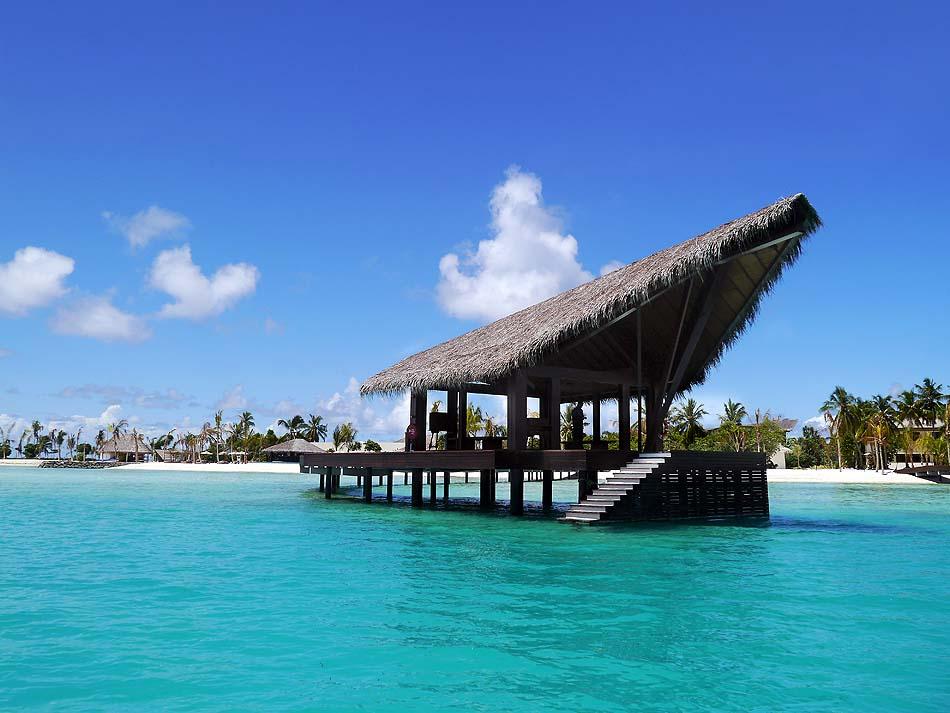 Ankunftsareal, The Residence Maldives at Falhumaafushi