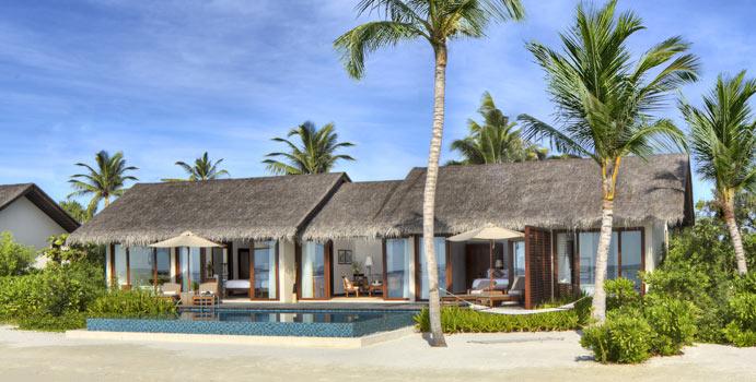 Two Bedroom Beach Pool Villa, The Residence Maldives at Falhumaafushi