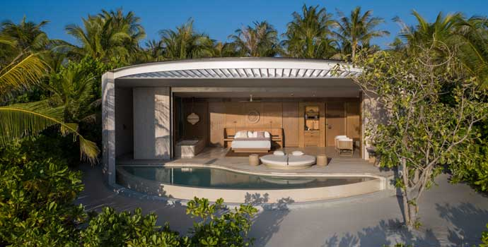 Beach Pool Villa, The Ritz Carlton Maldives, Fari Islands