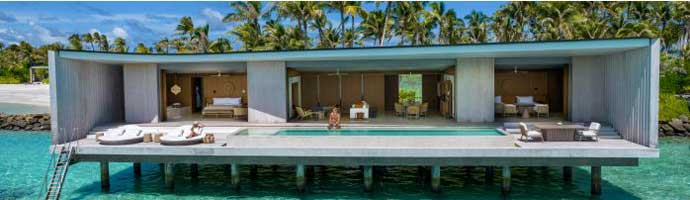 Two Bedroom Water Pool Villa , The Ritz Carlton Maldives, Fari Islands