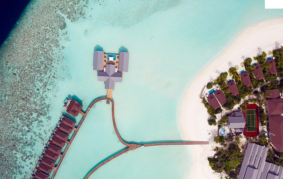 Overwater villas, Spa | The Standard, Huruvalhi Maldives