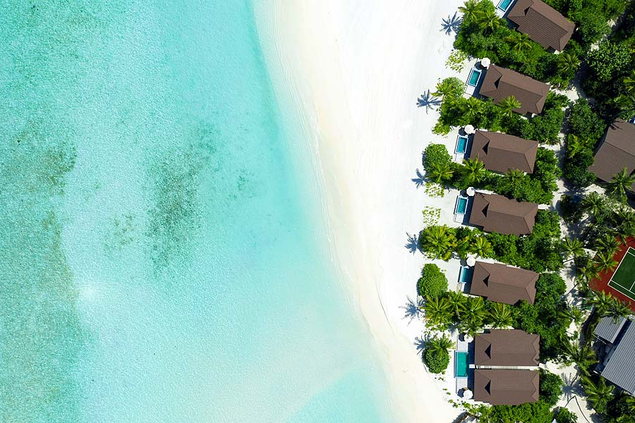 Ocean, Beach, Pool, Villas | The Standard, Huruvalhi Maldives