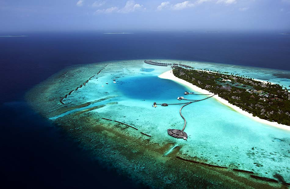 Inselansicht, The Sun Siyam Iru Fushi, Maldives