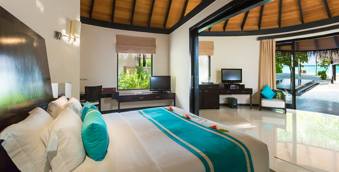 Family Deluxe Beach Villa with Pool, The Sun Siyam Iru Fushi