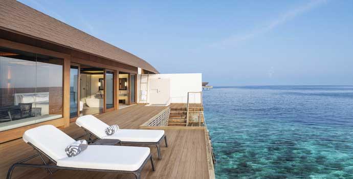 Over Water Villa, The Westin Maldives Miriandhoo Resort