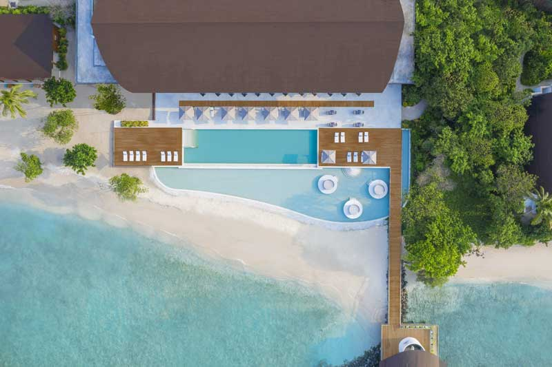 Aerial Pool, The Westin Maldives Miriandhoo Resort