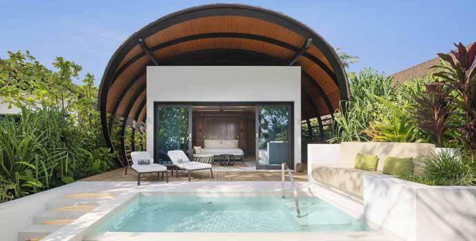 Beach Villa Pool, The Westin Maldives Miriandhoo Resort