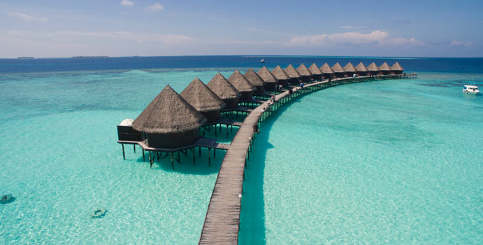 Water Bungalows, Thulhagiri Island Resort