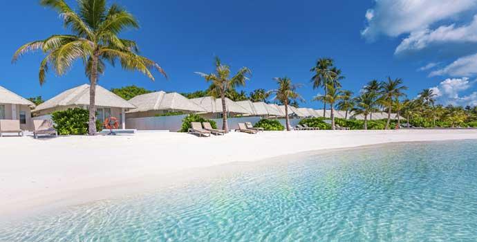 Romantic Beach Villa with Pool, TUI BLUE Olhuveli Romance
