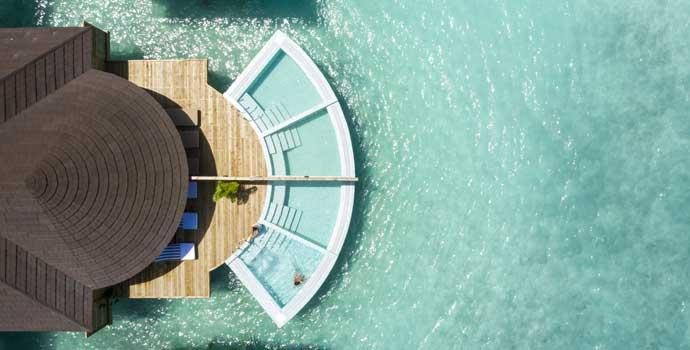 Romantic Water Villa with Pool, TUI BLUE Olhuveli Romance