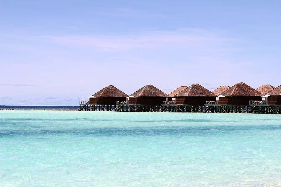 Wasservillen, Vakarufalhi Island Resort, Maldives