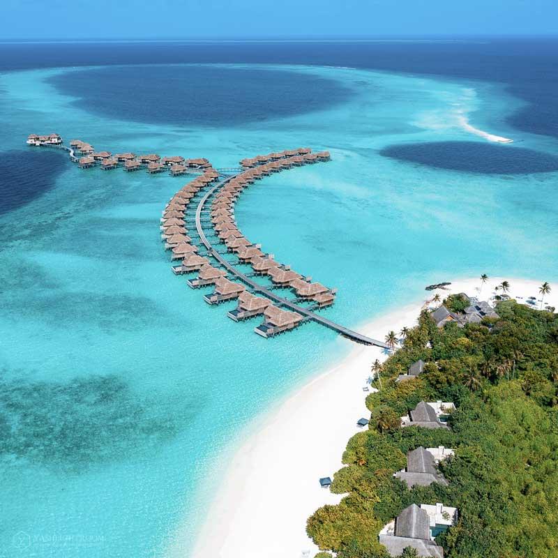Over Water Villas, Vakkaru Maldives